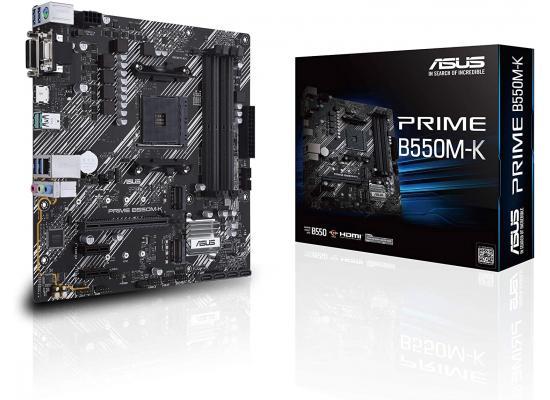 ASUS Prime B550M-K AMD B550 Dual M.2, PCIe 4.0 Mainboard