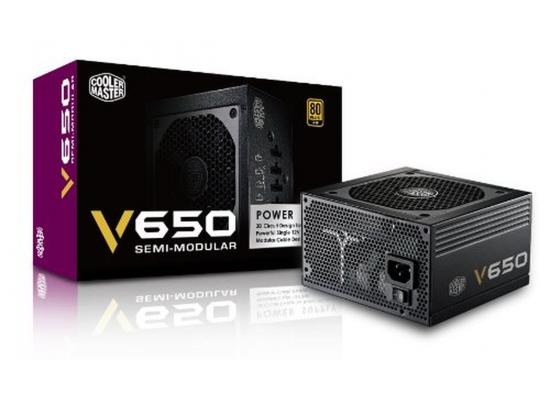 Cooler Master V650s 650w 80+ Gold Semi Modular Power Supply
