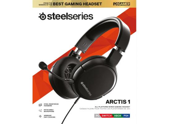 SteelSeries Arctis 1 Detachable Clearcast Microphone Lightweight