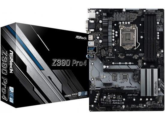 ASRock Z390 Pro4 Intel Z390 ATX Intel Motherboard