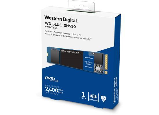 WD Blue SN550 NVMe M.2 2280 1TB PCI-Express 3.0 x4 3D NAND