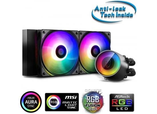 DeepCool Castle 240 RGB V2 AIO Liquid Cooler Anti-Leak Technology