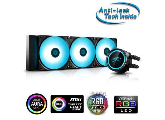 DEEPCOOL GAMMAXX L360 V2 RGB AIO Liquid Cooler Anti-Leak Technology