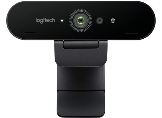Logitech BRIO 4K Webcam for Video Conferencing, Recording, & Streaming