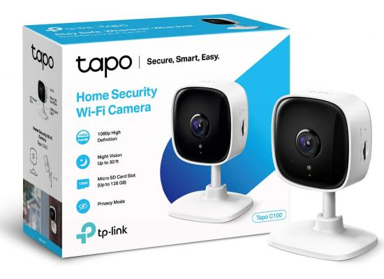 TP-Link Tapo C100 Smart Security Camera Indoor CCTV