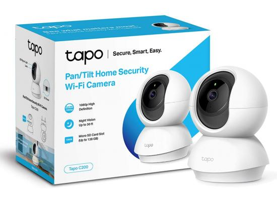 TP-Link Tapo C200 Smart Cam Pan Tilt Home WiFi Camera 1080p