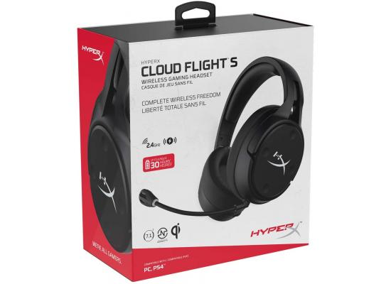 HyperX Cloud Flight S Virtual 7.1 Wireless Gaming Headset