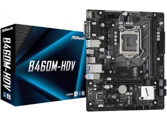 ASROCK B460M-HDV Intel B460 Support M.2 Motherboard