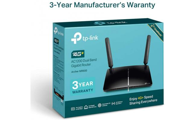 TP-Link Archer MR600 AC1200 Mbps 4G+ Mobile Wi-Fi Dual Band