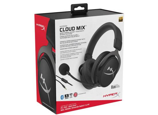 HyperX Cloud Mix Gaming Headset Wireless Bluetooth + Wired Option