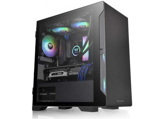 Thermaltake S100 Tempered Glass Black Edition Micro-ATX Case