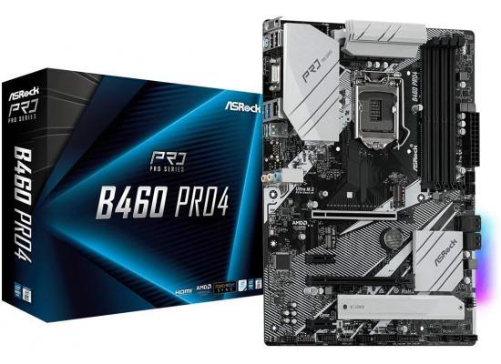 ASRock B460 PRO4 LGA 1200 Intel B460 ATX Intel Motherboard