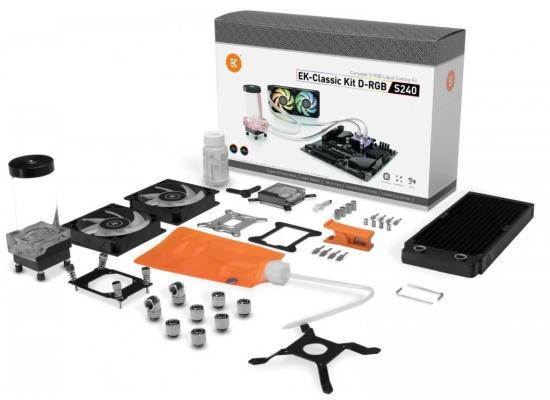 EK-Classic Kit S240 D-RGB Dual 120mm Liquid Cooling Kit