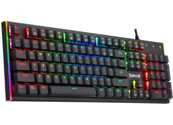 Redragon Parvati K591 RGB Low Profile MECHANICAL Extra-Thin