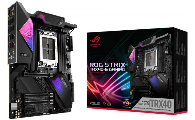 ASUS AMD Threadripper ROG STRIX TRX40-E GAMING PCIe 4.0