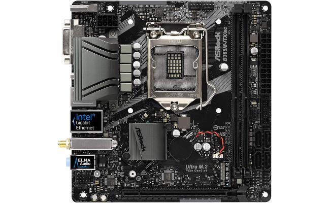 ASRock B365M-ITX/ac Intel B365 HDMI USB 3.1 Mini ITX