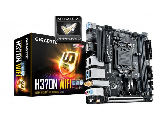GIGABYTE H370N WIFI Intel H370 HDMI Mini ITX w / WIFI