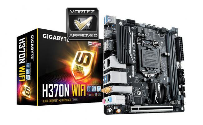 GIGABYTE H370N WIFI Intel H370 HDMI Mini ITX w / WIFI