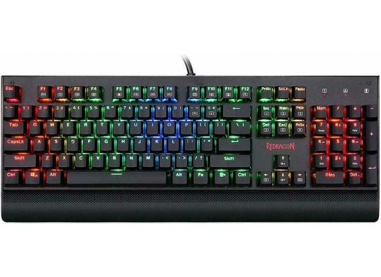 Redragon KALA K557 RGB Metal-Waterproof MECHANICAL - Blue Switch