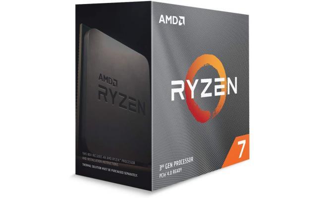 AMD RYZEN 7 3800XT 8-Core 3.9 GHz (4.7 GHz Max Boost)