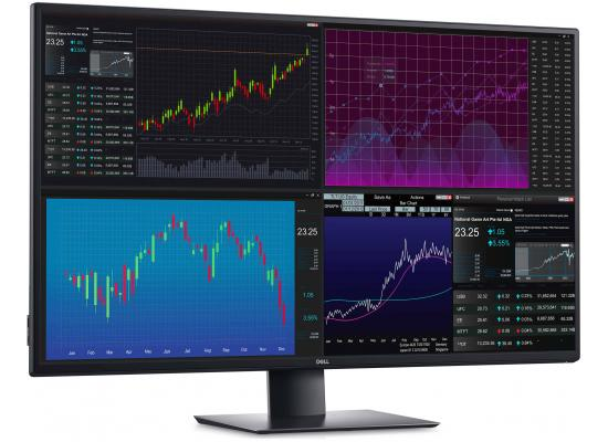 "Dell U4320Q 43"" 4K UltraSharp IPS Thin Bezel USB-C VESA, Black"