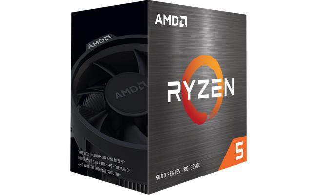 AMD RYZEN 5 5600X 6-Core 3.7 GHz (4.6 GHz Max Boost)
