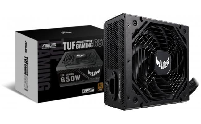 ASUS TUF Gaming 650W 80+ Bronze Axial-tech Fan 0dB Technology