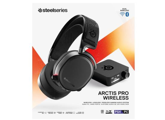 SteelSeries Arctis Pro Wireless Headset + Bluetooth for PS5/PS4 & PC