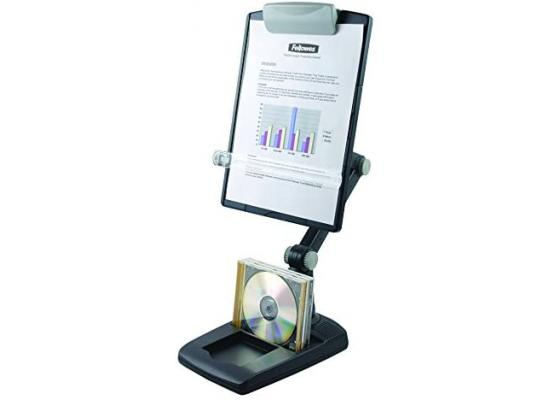 Fellowes Copy Holder DeskTop Weighted Base Flex Arm