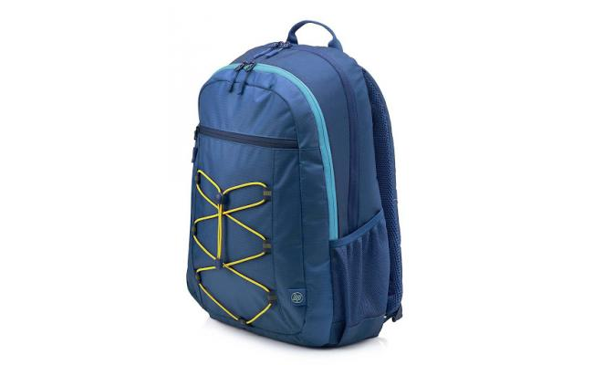 "HP 15.6"" Active Backpack Carry Case , Blue"