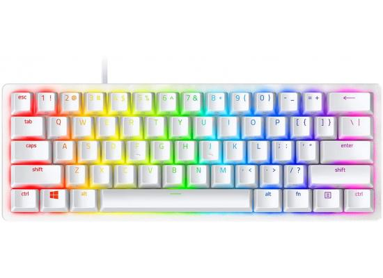 Razer Huntsman Mini 60% Linear Optical Switches - Mercury White