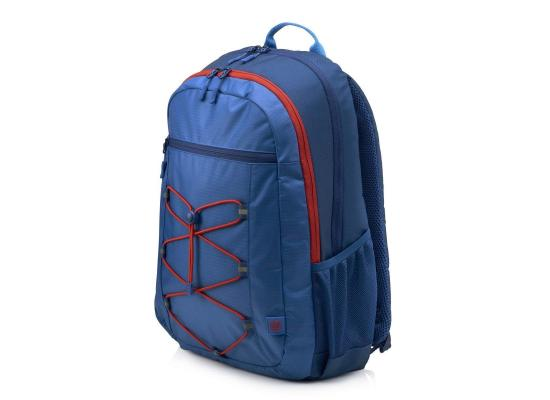 "HP 15.6"" Active Backpack Carry Case , Blue / Red"