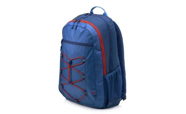 """HP 15.6"""" Active Backpack Carry Case , Blue / Red"""