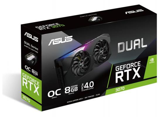 ASUS GeForce RTX 3070 OC Dual Edition 8GB GDDR6