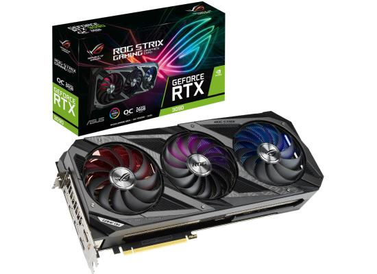 ASUS ROG Strix NVIDIA GeForce RTX 3090 OC Edition 24GB GDDR6X
