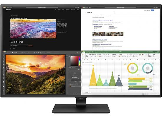 "LG 43UN700 43"" 4K IPS Display with USB Type-C & HDR10 w/ 4 HDM"