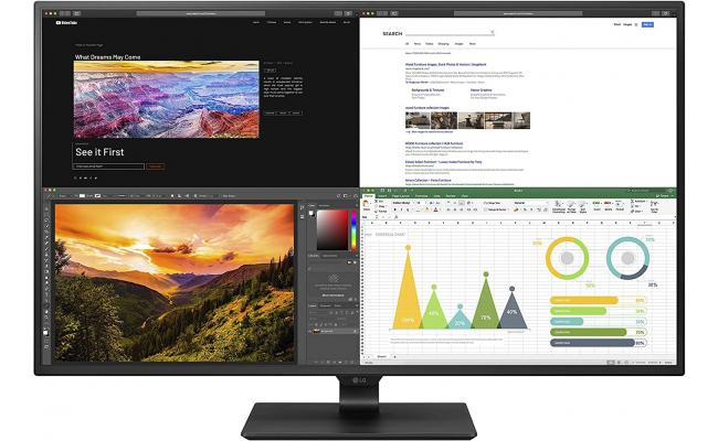 """LG 43UN700 43"""" 4K IPS Display with USB Type-C & HDR10 w/ 4 HDM"""
