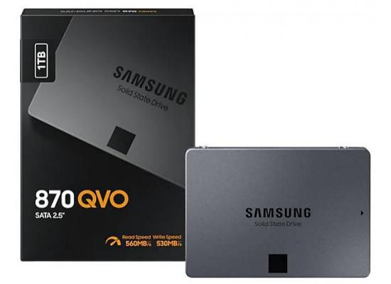 Samsung 870 QVO Series 1TB Solid State Drive
