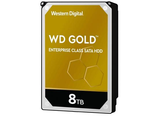WD Gold 8TB Enterprise Class HDD 7200 RPM 256 MB Cache