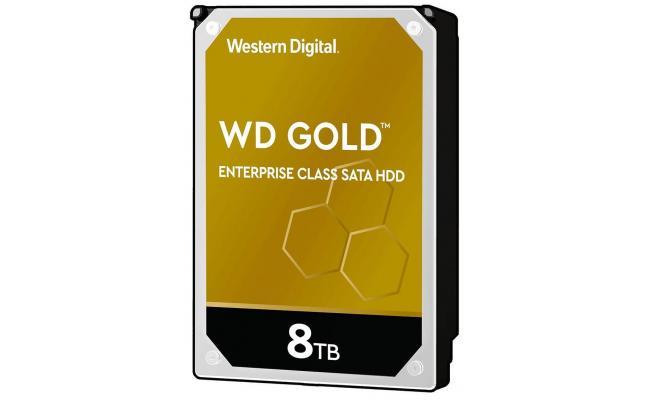 WD Gold 8TB Enterprise Class HDD 7200 RPM 256 MB Cache