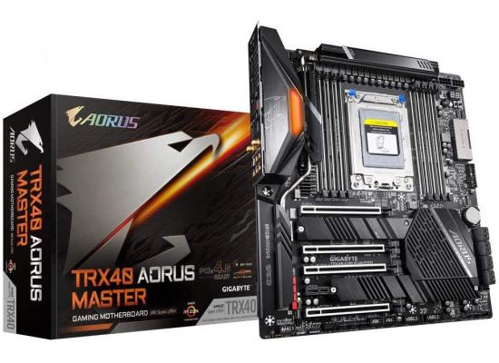 GIGABYTE TRX40 AORUS Master AMD TRX40 PCIe 4.0x4 M.2 Intel WiFi 6