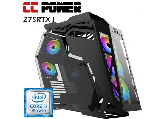 CC Power 27SRTX I  Gaming PC 9Gen Core i7 w / RTX 2070 SUPER 8GB