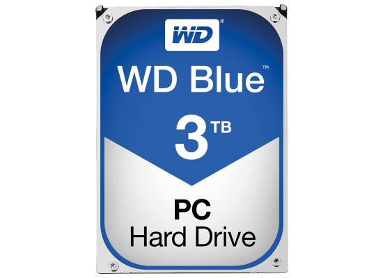 WD Blue 3TB 5400RPM SATA3 64MB HDD (3.5 inch)