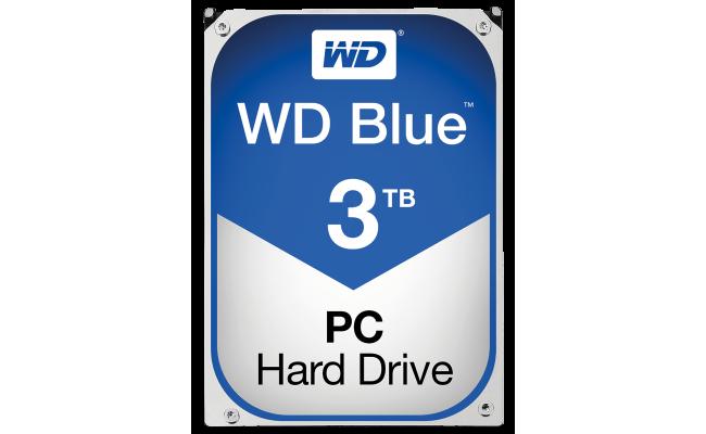 WD Blue 3TB 5400RPM SATA3 64MB HDD (3.5 inch)