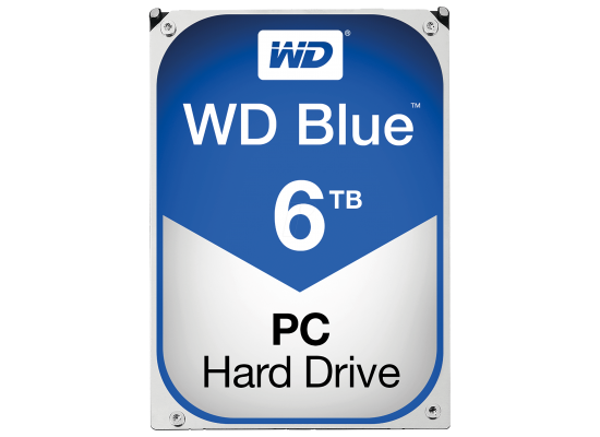 WD Blue 6TB 5400RPM SATA3 64MB HDD (3.5 inch)