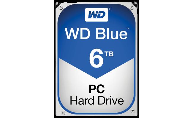 WD Blue 6TB 5400RPM SATA3 64MB HDD (3.5 inch)