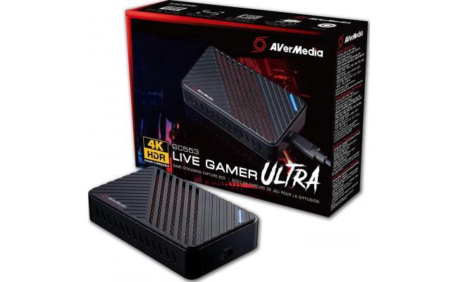 AVerMedia Live Gamer ULTRA 4K Gaming External Capture Device