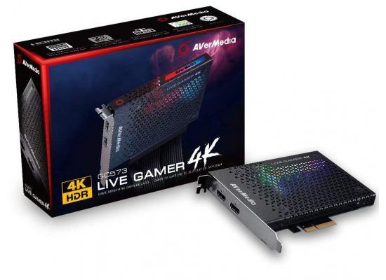 AVerMedia Live Gamer 4K HDR Gaming Capture Card