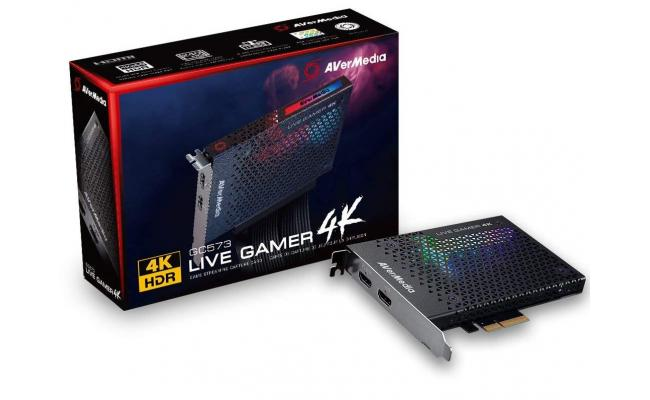 AVerMedia Live Gamer 4K HDR Gaming Capture Card