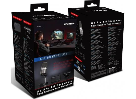 AverMedia Live Streamer 311 Starter Kit